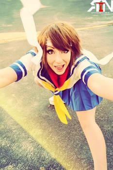 Sakura- Street Fighter Cosplay