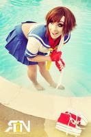 Sakura- Street Fighter Cosplay by Its-Raining-Neon
