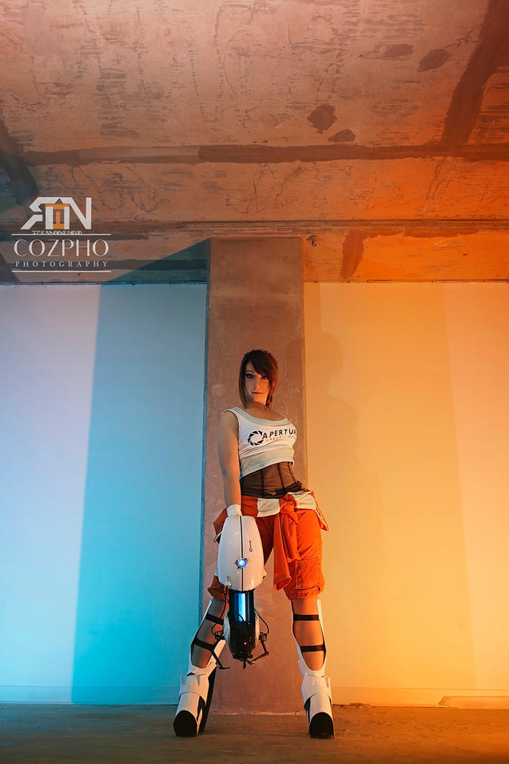 Chell - Portal 2 by Its-Raining-Neon