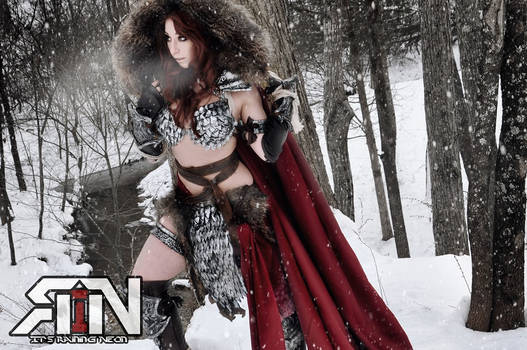 Red Sonja Dynamite Comics June Cover Cosplayer