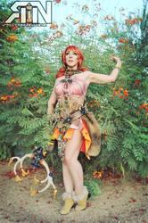Vanille cosplay- DeAnna Davis / ItsRainingNeon