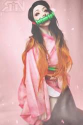 Nezuko cosplay - ItsRainingNeon