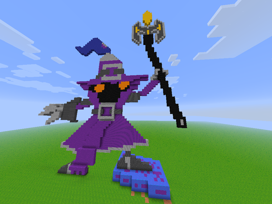 League of Legends Veigar in Minecraft by blackdragon234 on DeviantArt