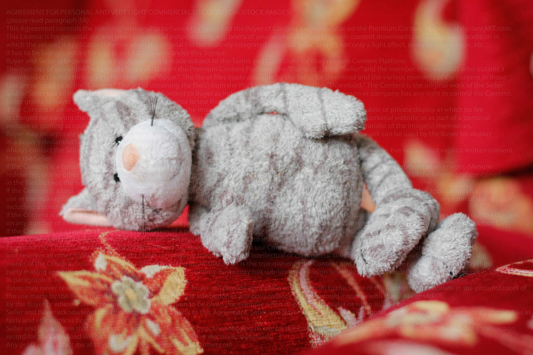 Forgotten Plush toy by PzychoStock