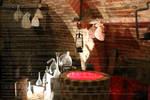 A witch's house by PzychoStock
