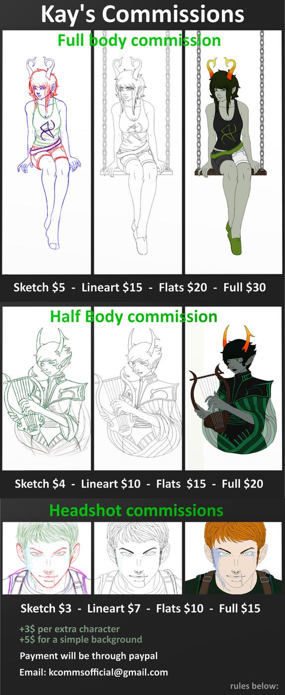 Commissions~ by KyoriYuki
