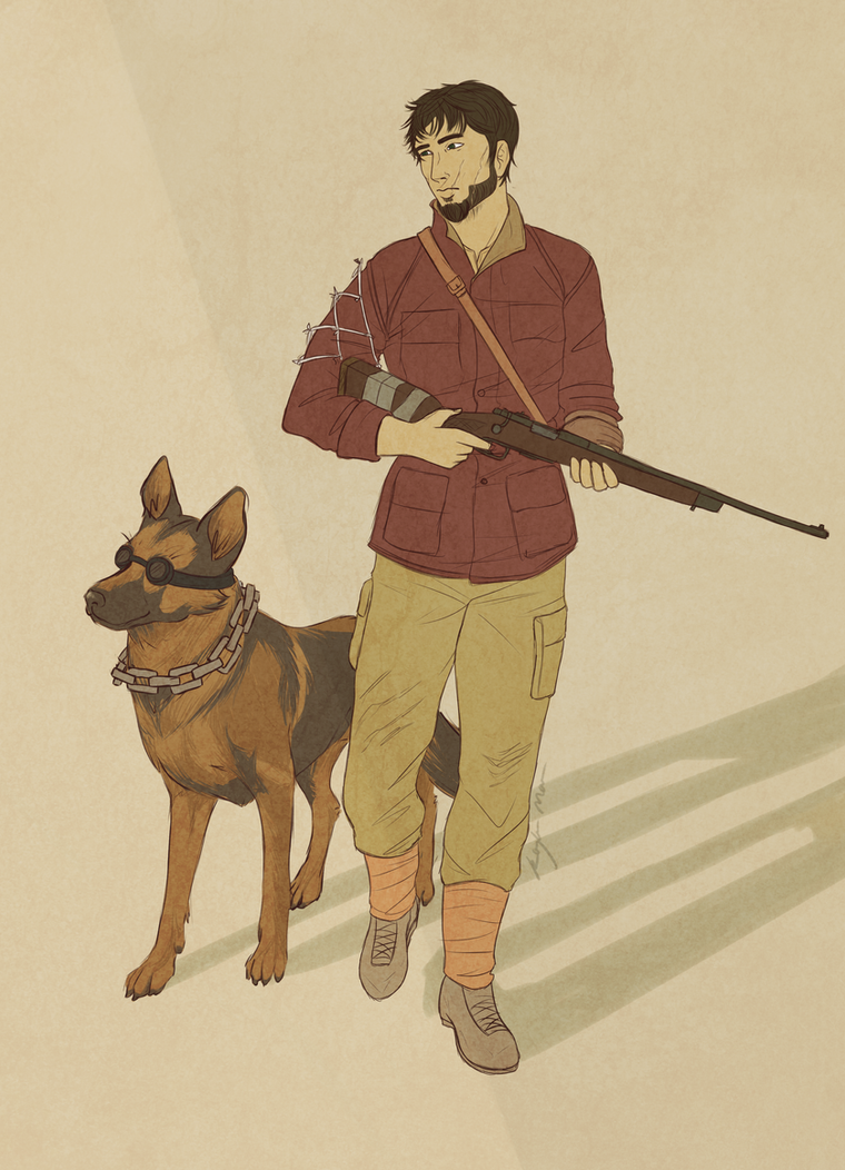 Request: Rai and Dogmeat by CptKay