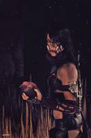 Mileena of Mortal Kombat X - Version Tournament 6 by LeelooKris