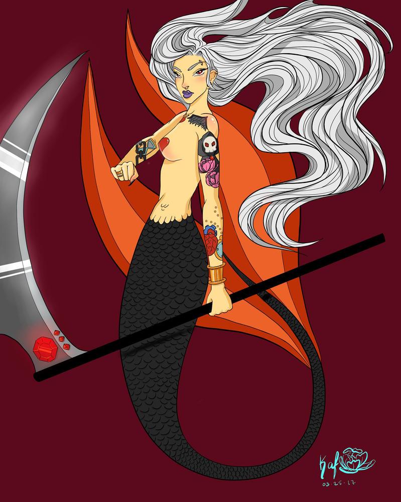 Mermaid Reaper by Katcuty
