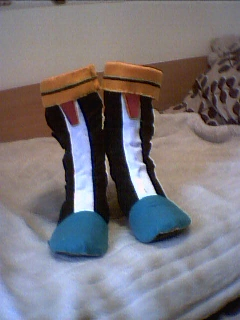 Silver the Hedgehog Boots by Mew-Mew-Rocky