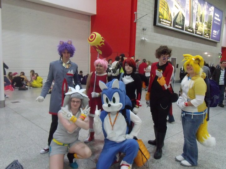 Sonic Group by Mew-Mew-Rocky