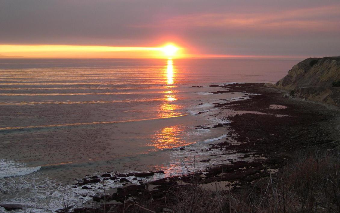 San Pedro Sunset By Anenome On DeviantArt