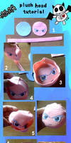 Plush head tutorial