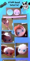 Plush head tutorial by nitanita