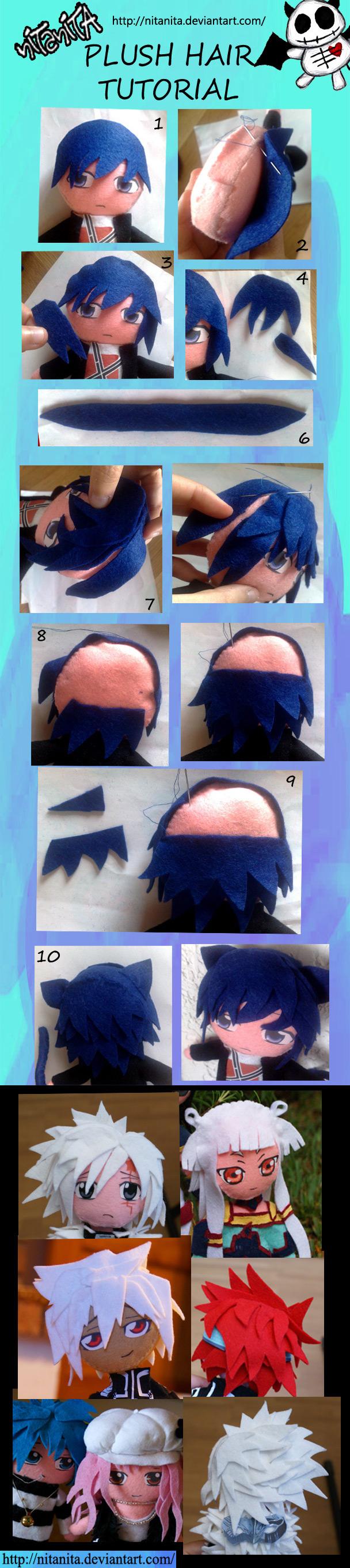 Plush Hair tutorial by nitanita