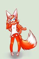 Foxy Costume by Jade-Hearts-Art