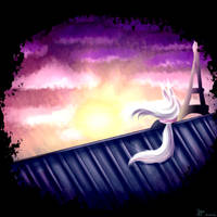 A view in Paris by Jade-Hearts-Art