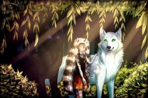 Wolf's Mark by Jade-Hearts-Art