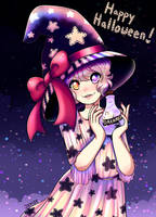 Witch Card Alvina by Jade-Hearts-Art
