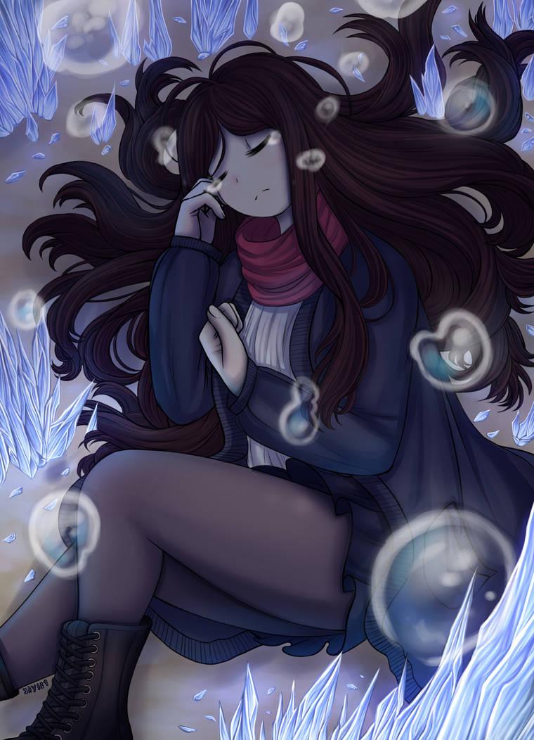 Underwater Tears by Jade-Hearts-Art