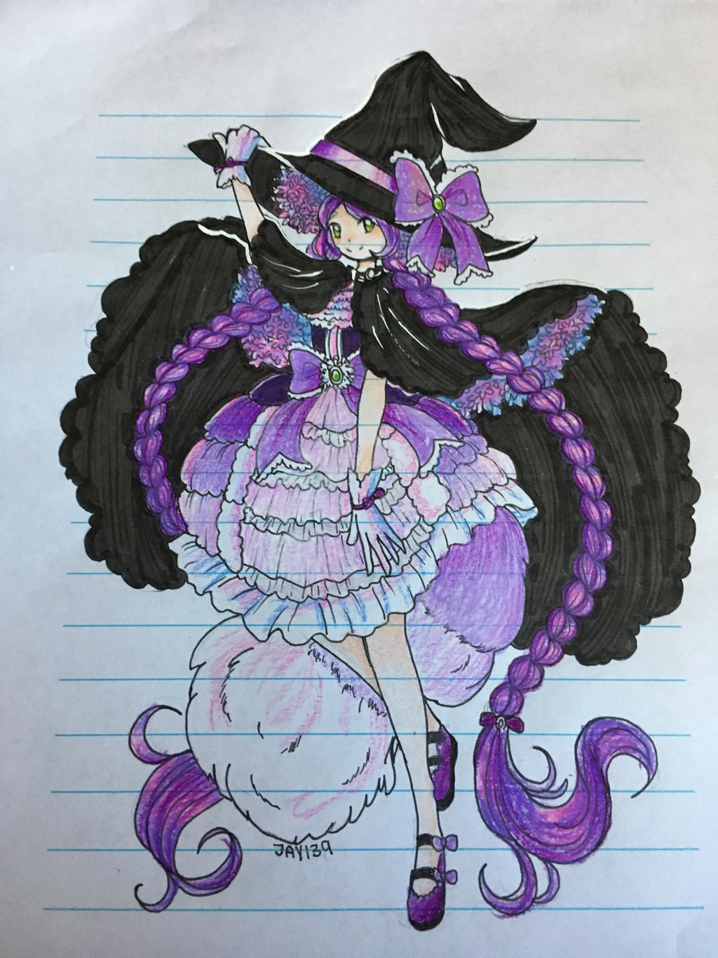 Witch by Jade-Hearts-Art