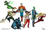 Justice League redesigned!