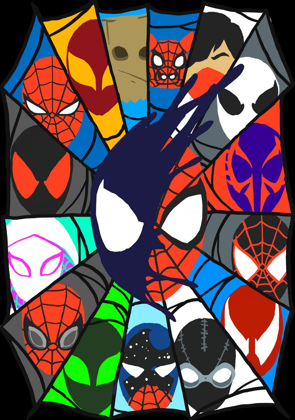 Design t shirt artwork -  Spider Man T Shirt Design Alternate By Mrrizeag