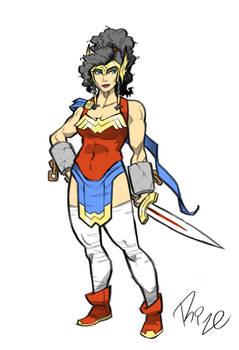 Wonder Woman Redesign 3