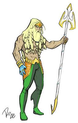Aquaman redesign 2
