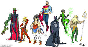 JUSTICE LEAGUE: Redesigned! by MrRizeAG