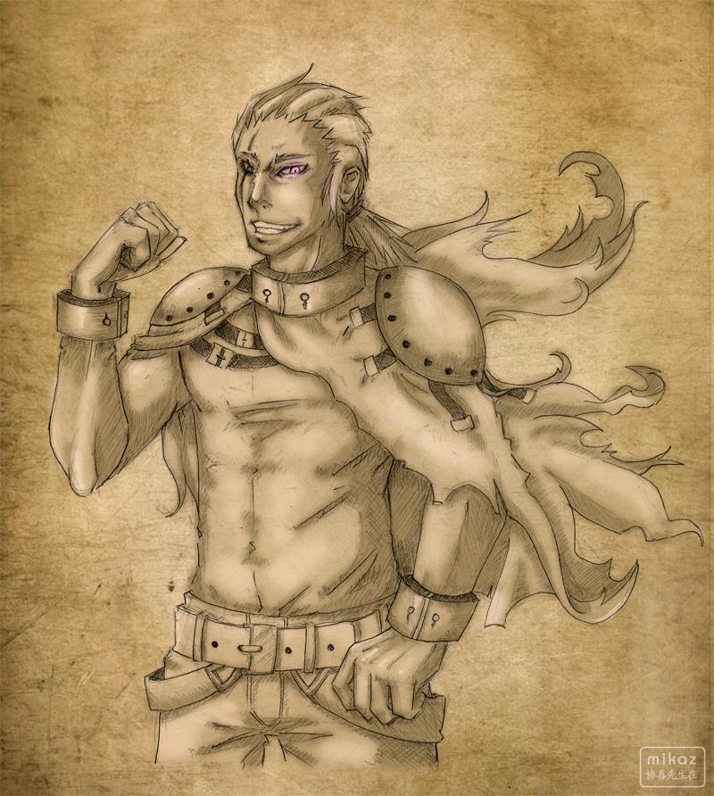 Character - Psycho by DamaiMikaz