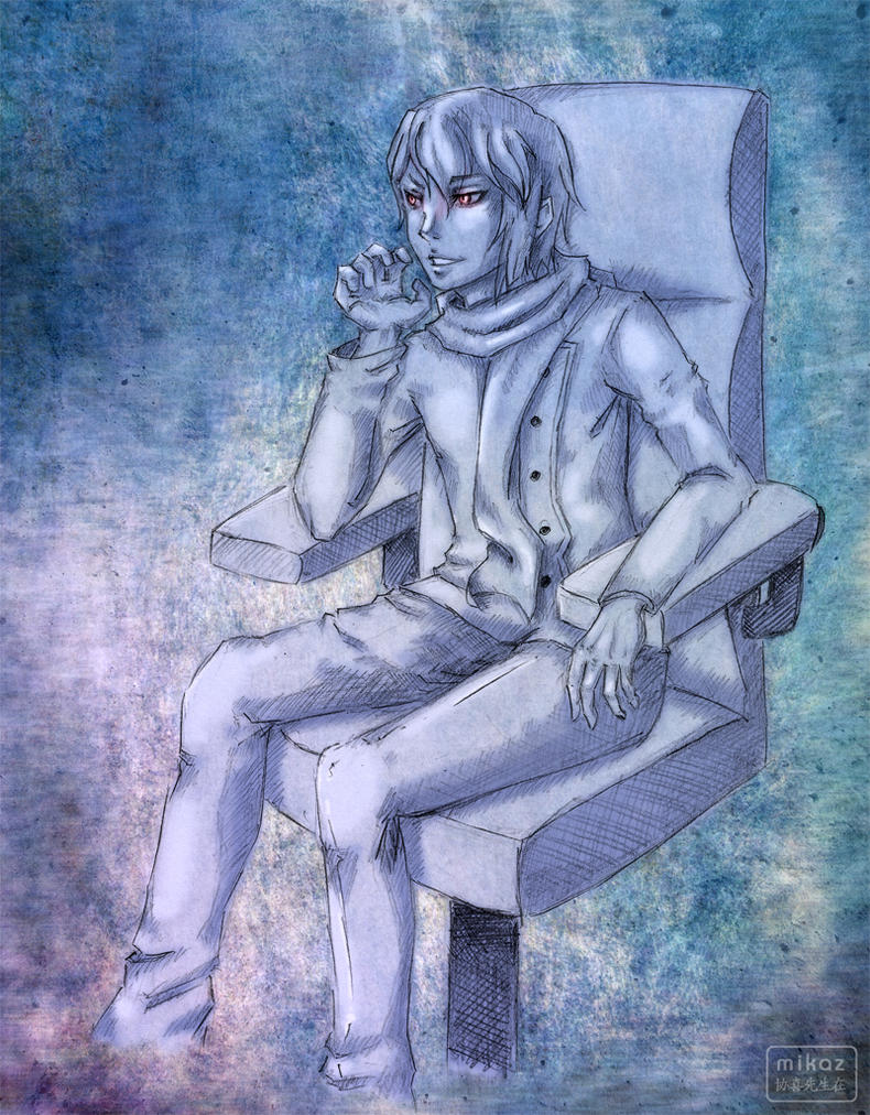 Character - Sato by DamaiMikaz