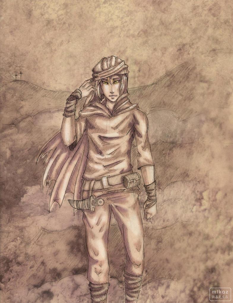 Character - Mana by DamaiMikaz