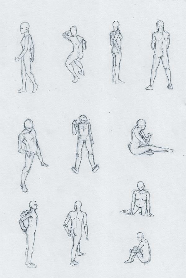 Anatomy practise 31.08.2011 by DamaiMikaz