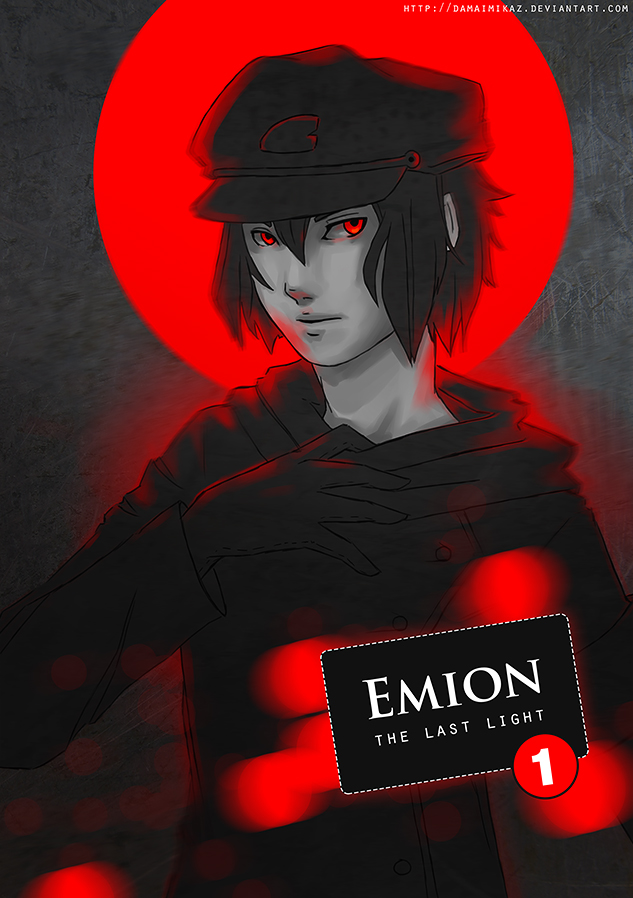 Emion manga cover - Sato by DamaiMikaz