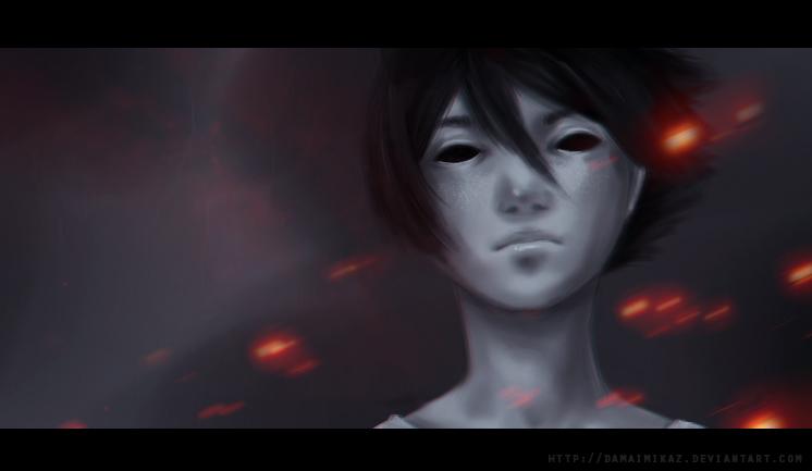 Those Hollow Eyes by DamaiMikaz
