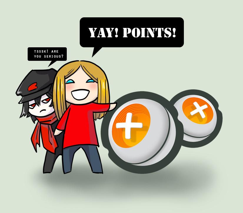 Yay! Points! by DamaiMikaz