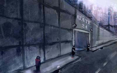 The wall by DamaiMikaz