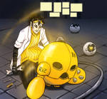#03 Yellow [ Aiden ] by DamaiMikaz