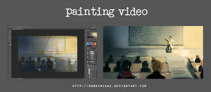 [Video] Timelapse painting - College
