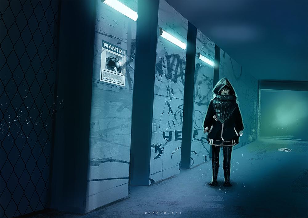 The creepy kid by DamaiMikaz