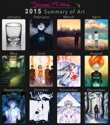 2015 summary of art by DamaiMikaz