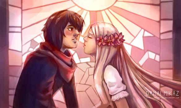 Now kiss please