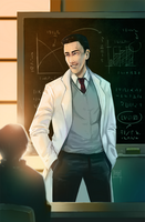 The professor by DamaiMikaz