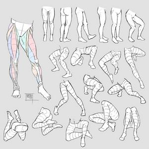 Sketchdump July 2017 [Legs]