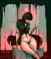The lady of darkness