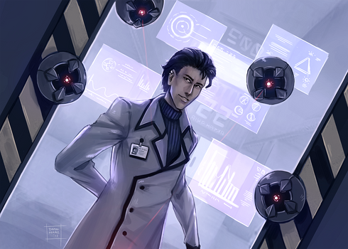 Infiltrating the lab, huh?
