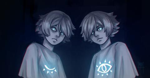 The twins by DamaiMikaz