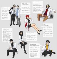Characters - Ground Zero crew by DamaiMikaz