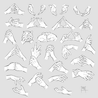 Sketchdump May 2018 [Both hands]
